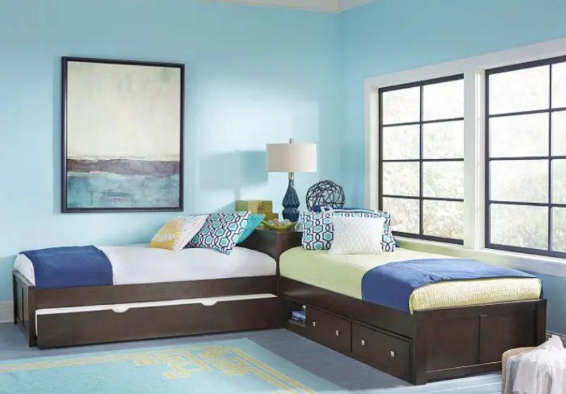 طراحی داخلی اتاق خواب L