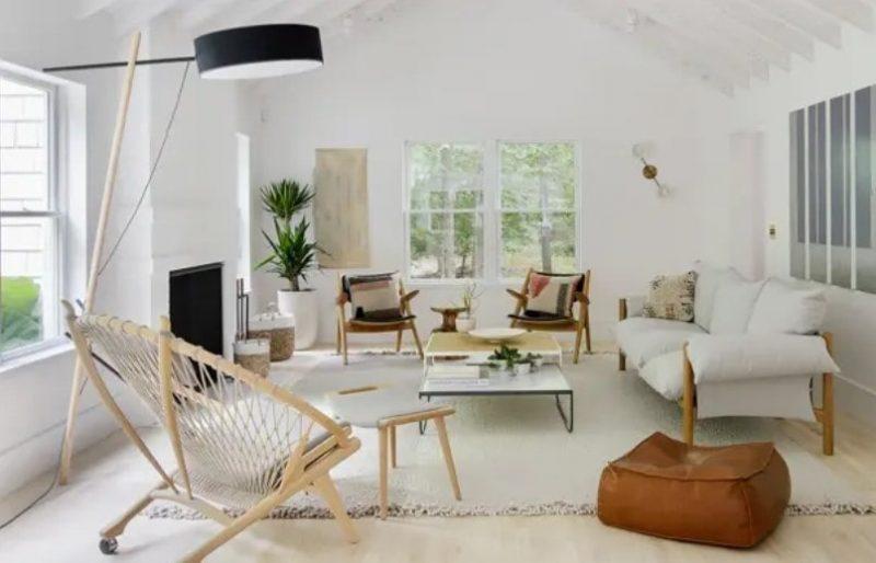 طراحی داخلی حداقلی برای سالن