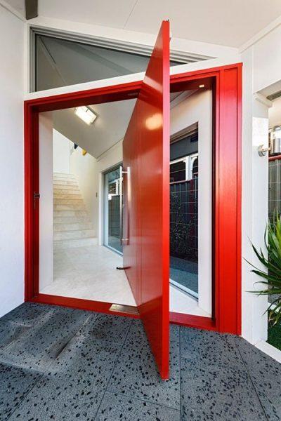 طراحی درب بدون لولا