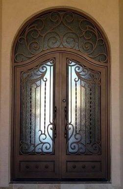 طراحی درب رگالی