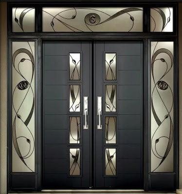 طراحی درهای چوبی مدرن