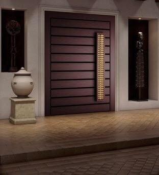 بهترین 30 طرح درب چوبی برای خانه های مدرن