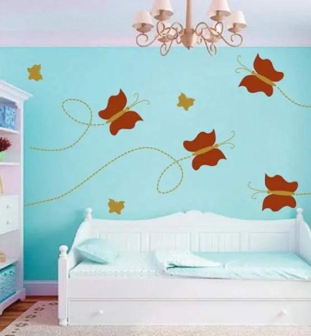 25 تا از بهترین طراحی دیوار اتاق خواب با عکس