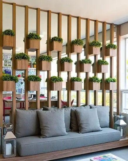 بهترین طرح های دیوار پارتیشن چوبی
