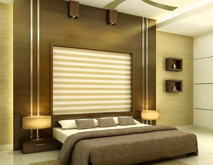 طراحی دیوار پی وی سی برای اتاق خواب