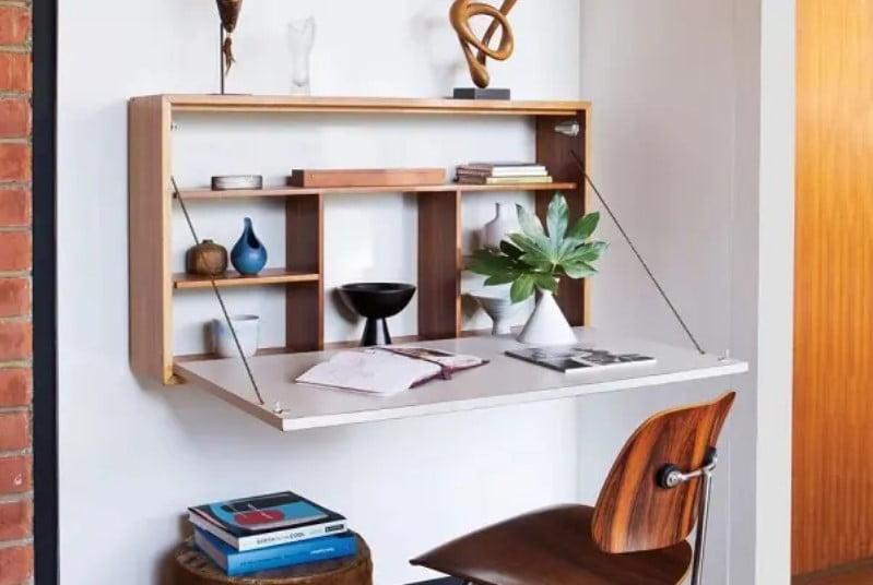 28 تا از جدیدترین طراحی میز های اداری چوبی