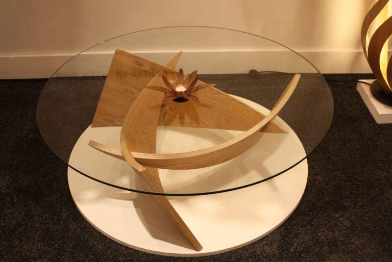 طرحی از میز جلو مبلی مدرن