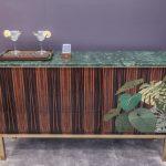 طرح های مدرن بوفه چوبی