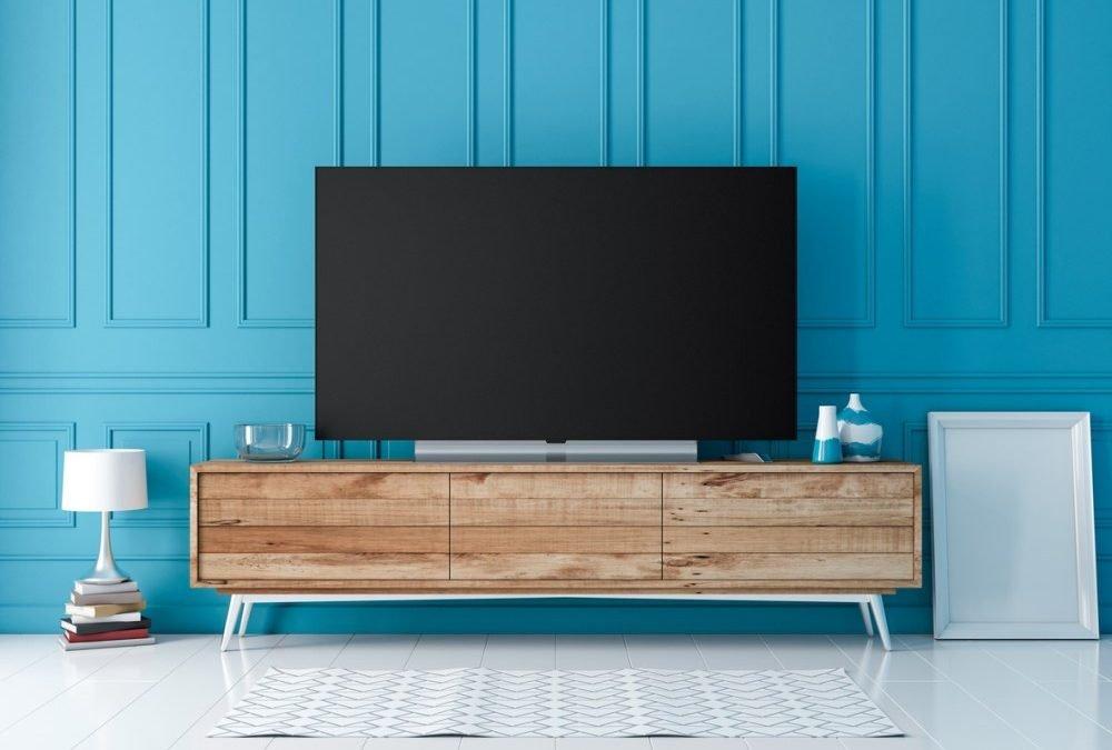 طرح های میز تلویزیون برای اتاق نشیمن شما