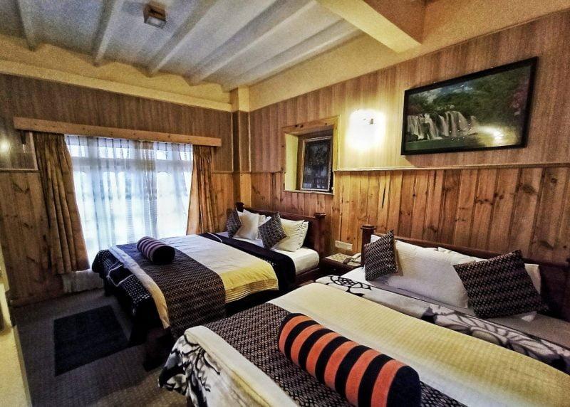 عناصر چوبی برای اتاق خواب
