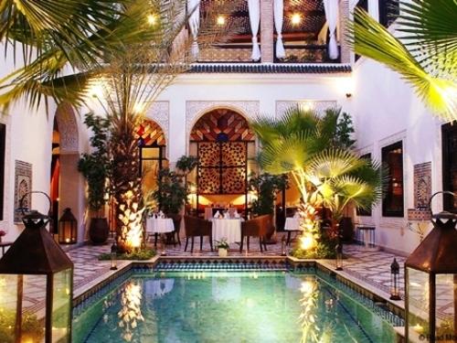 ایده اتاق نشیمن مراکش