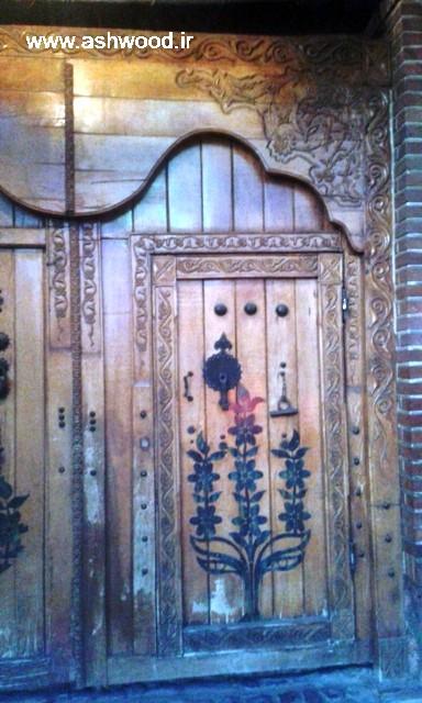 درب چوبی زیبا ، درب قدیمی سنتی