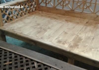 تخت گره چینی هنر سنتی