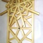 عکس نمونه کار کارگاه درودگری ، نجاری ، هنرکده ، صنایع چوب و هنر های چوبی میز کنسول چوبی صندلی , لمبه ، دکوراسیون داخلی