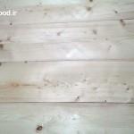بدنه تمام چوب ساخته شده از چوب کاج لمبه