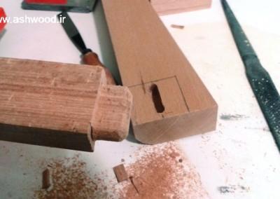 کنسول چوبی