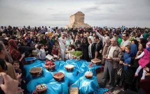 آرامگاه کوروش کبیر , عید نوروز