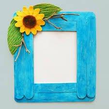 قاب عکس چوبی رنگی