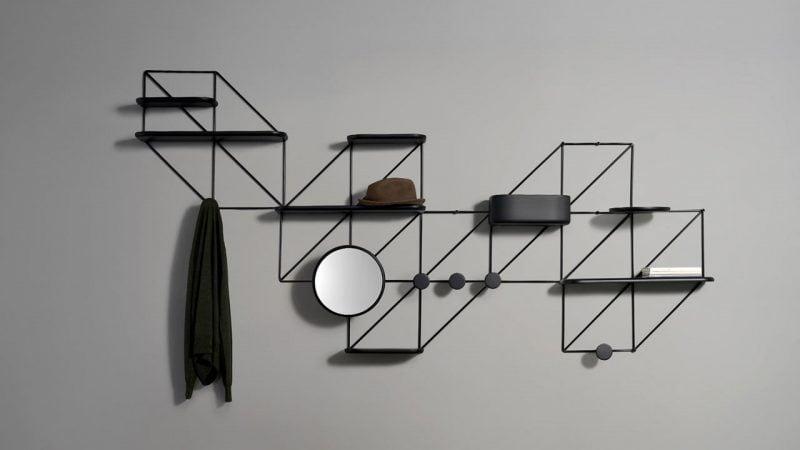 قفسه های دیواری گرافیکی
