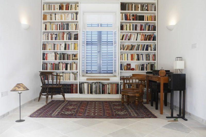 قفسه های کتاب سفید