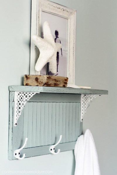 قفسه و مبلمان کرکره ای نعناعی رنگ
