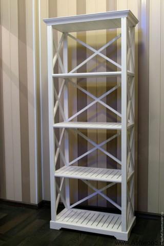 مدل قفسه و کتابخانه چوب کاج