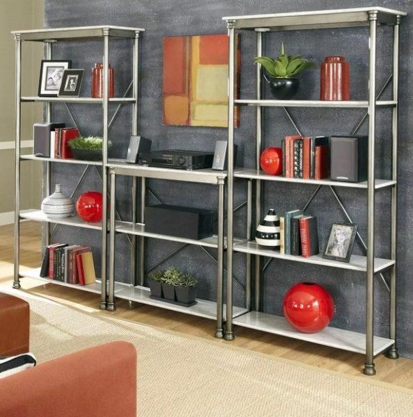 قفسه کتاب فلزی