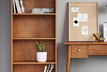 22 قفسه کتاب درخشان برای فضا های کوچک  :