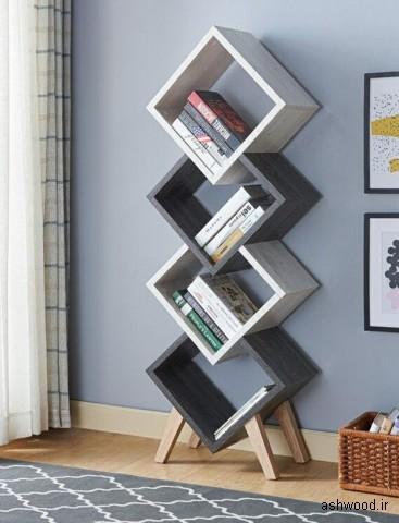 قفسه کتاب, کتابخانه چوبی
