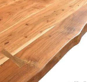 لبه چوب طبیعی