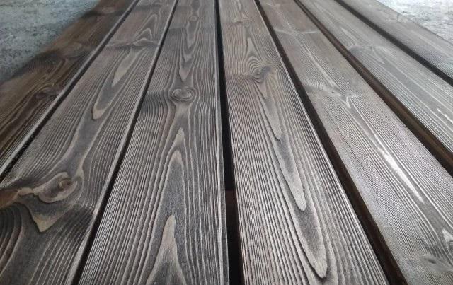 چوب کاج روسی سندبلاست شده , دیوارکوب , کفپوش و چوب سقف