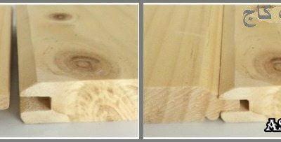 چگونه یک سقف چوبی با لمبه ایجاد کنیم