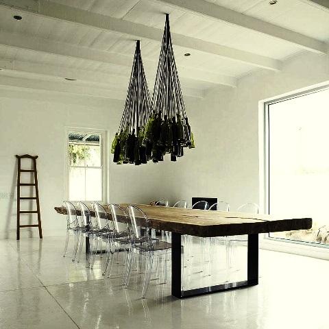 درباره لوستر های چوبی  ایده و ساخت + عکس