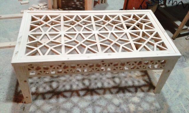 ميز چوبی سنتی