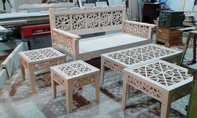مبلمان سنتی ، تخت سنتی ، مبل ایرانی ، دکوراسیون سنتی و طبیعی