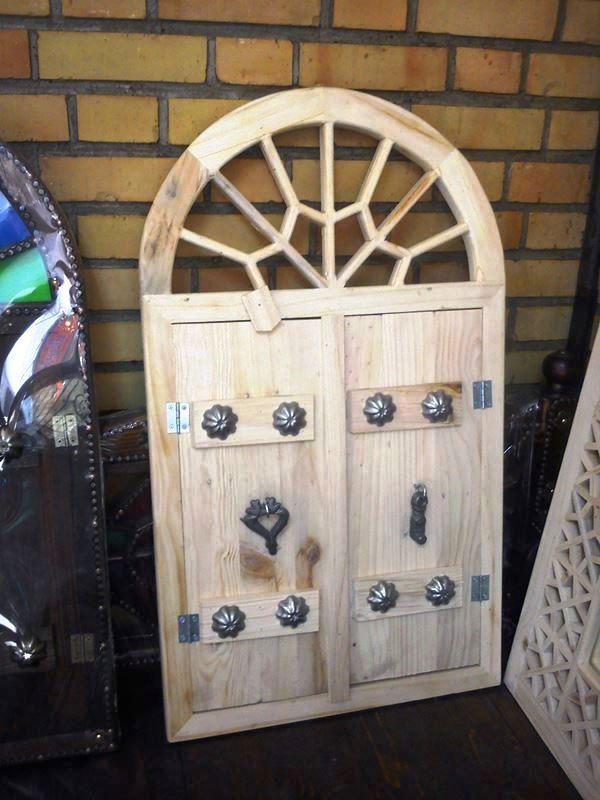 مبلمان سنتی چوبی تخت باغی 12