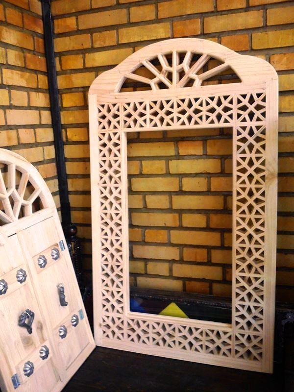 مبلمان سنتی چوبی تخت باغی 13