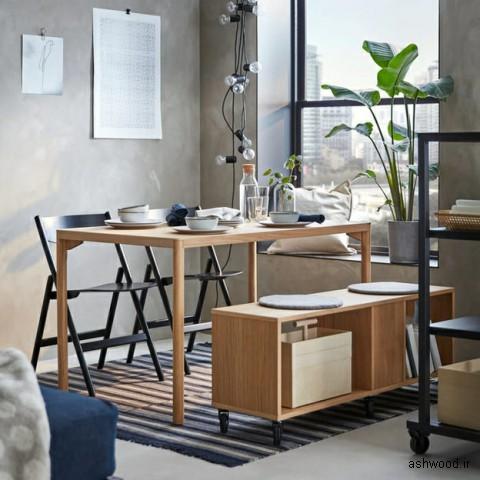 ایده هایی برای مبلمان و دکوراسیون چوبی