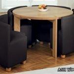 مبلمان کمجا , میز و صندلی های چوبی ناهار خوری