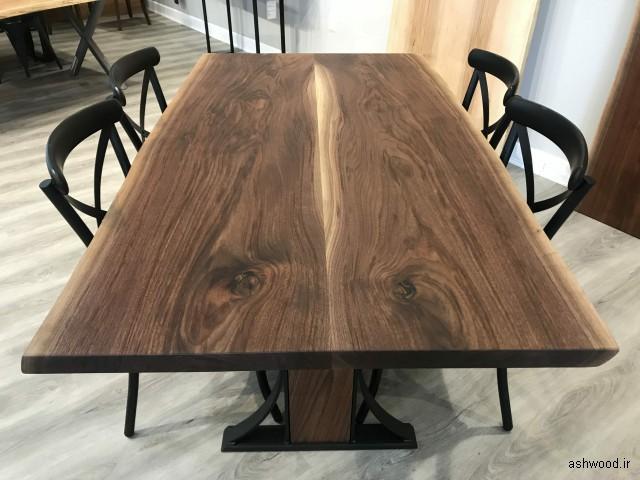 میز ناهارخوری چوب گردو