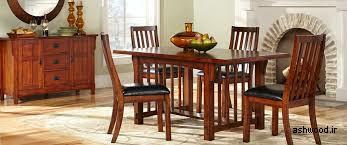 میز چوبی ناهارخوری و مبلمان چوب