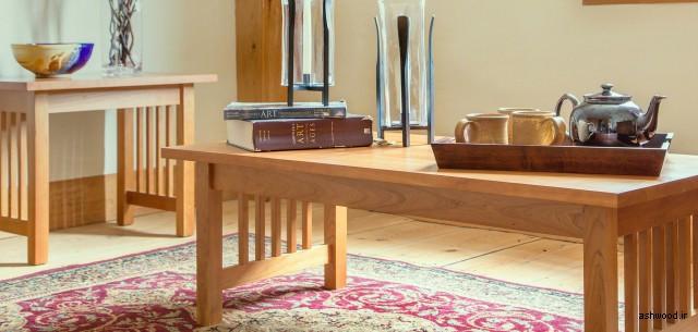 میز تحریر چوب بلوط , میز کار