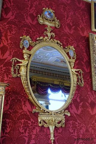آینه (یکی از جفت ها) ، ج. 1778، giltwood - گالری - Harewood House