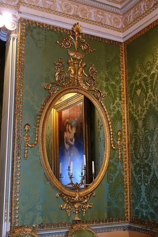 آینه (یکی از جفت ها) ، 1773 ، گیلت وود ، اتاق خواب ایالتی - Harewood House
