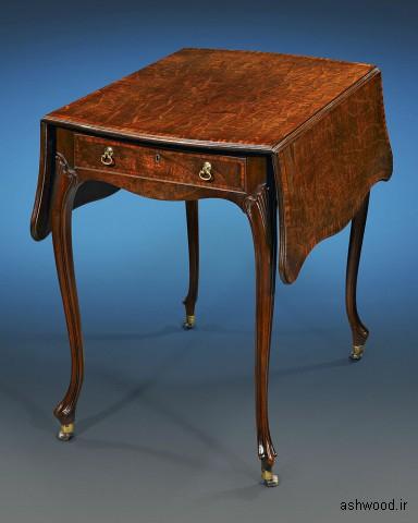 میز Pembroke توسط Chippendale برای Paxton House ، 1775.