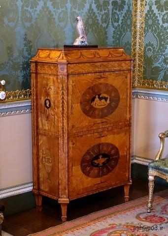 Secretaire ، دهه 1770 ، اتاق خواب دولتی - خانه Harewood
