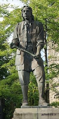 مجسمه توماس چیپندیل در اوتلی