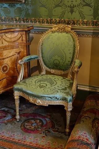 صندلی راحتی ، 1773 ، گیلت وود ، اتاق خواب ایالتی - Harewood House