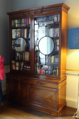 کابینت ، دهه 1700 ، ماهاگونی - اتاق نشیمن لرد هاروود - خانه هاروود