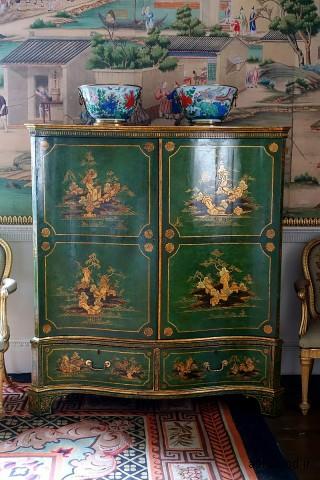 جا لباس ، دهه 1700 - دکوراسیون اتاق خواب شرقی - Harewood House